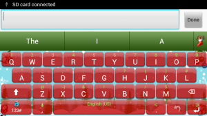 Celebrate festive season with Adaptxt Christmas keyboard_1_buggingweb