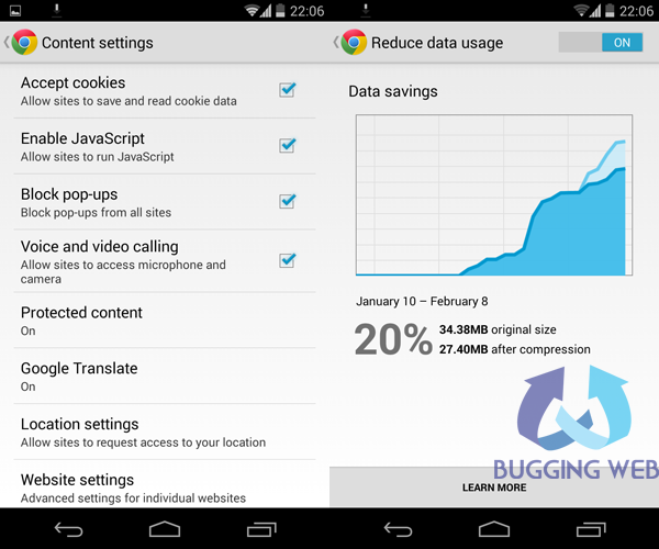 How to block Ads on Android device and save data_Google Chrome